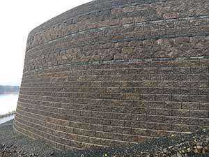 Banded Wall
